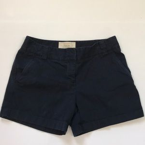🌿J. Crew Navy City Fit Shorts EUC